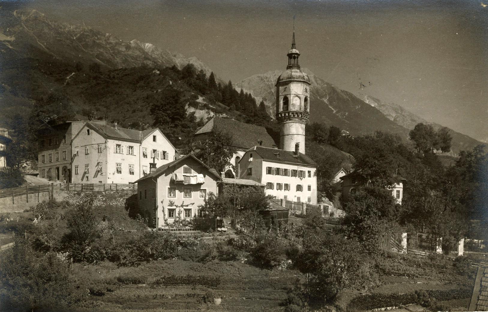 Alte Höttinger Pfarrkirche 1931