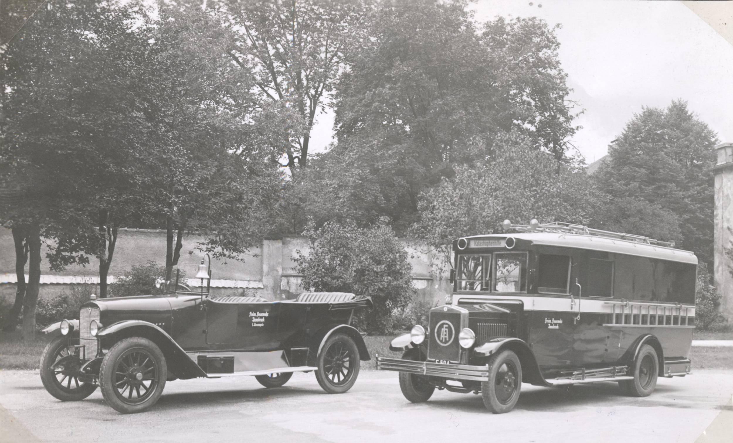 Der Pionierwagen – Ein Stück Feuerwehrgeschichte