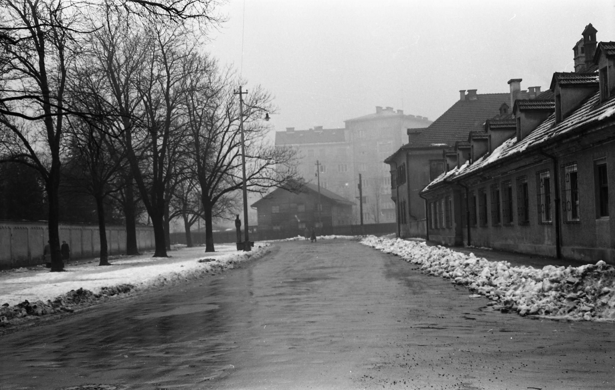 Wieder Schnee – Diesmal Ohne Radfahrer
