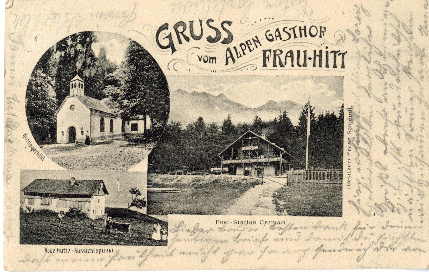 """Alpengasthof """"Frau Hitt"""""""