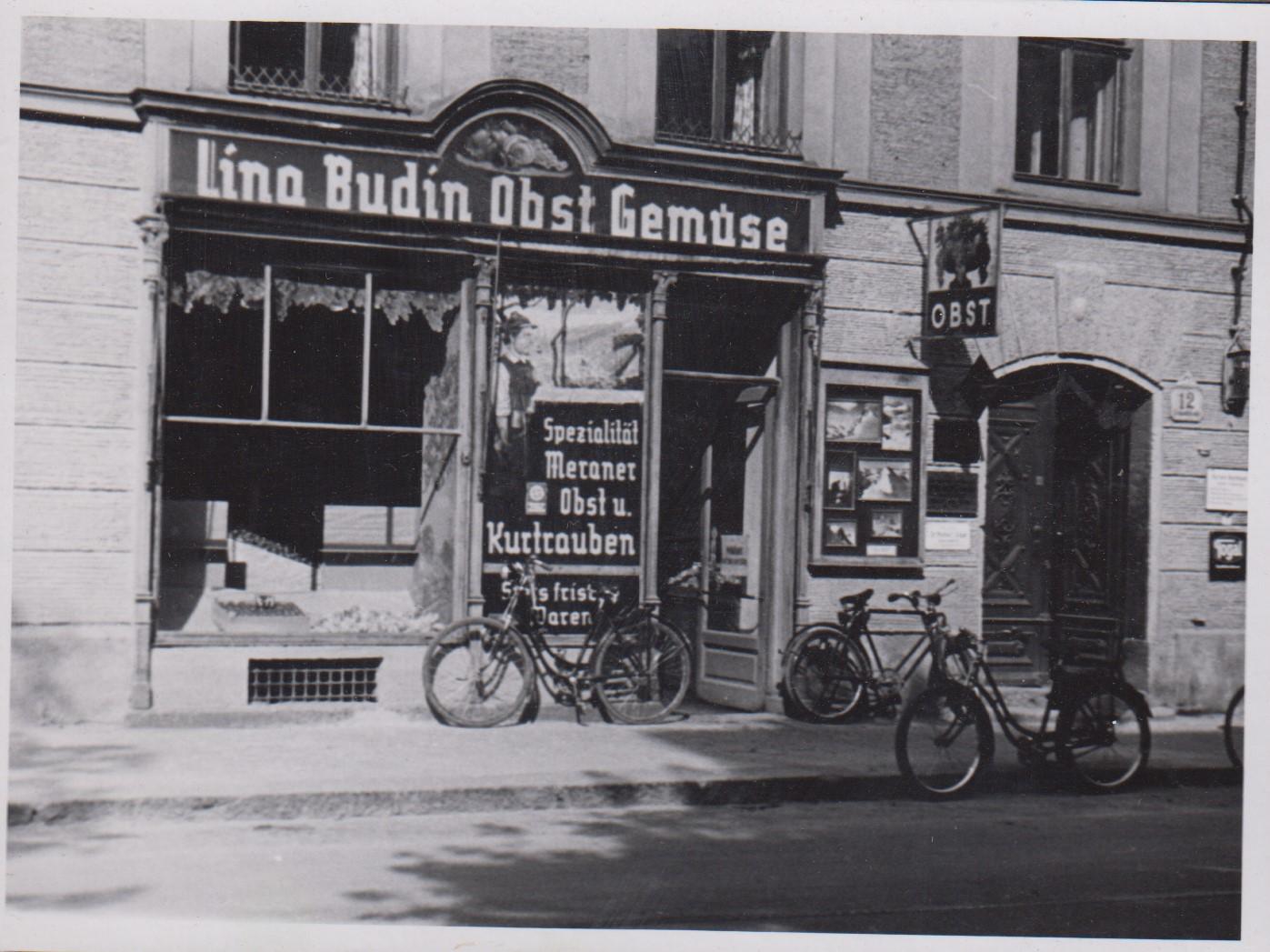 Das Geschäft Von Lina Budin