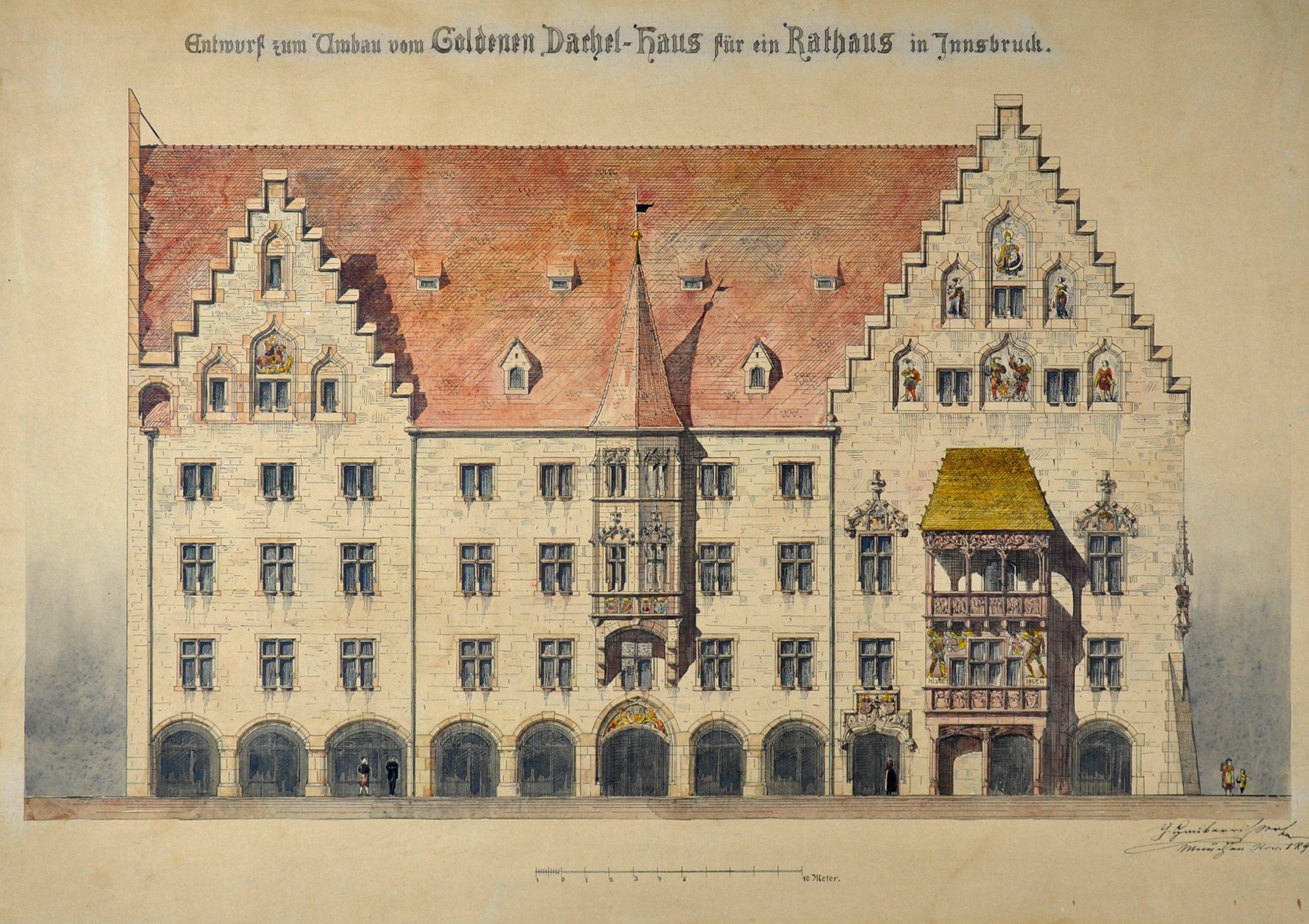 Vom Goldenen Dachl Zum Neogotischen Rathaus? (Teil 3)