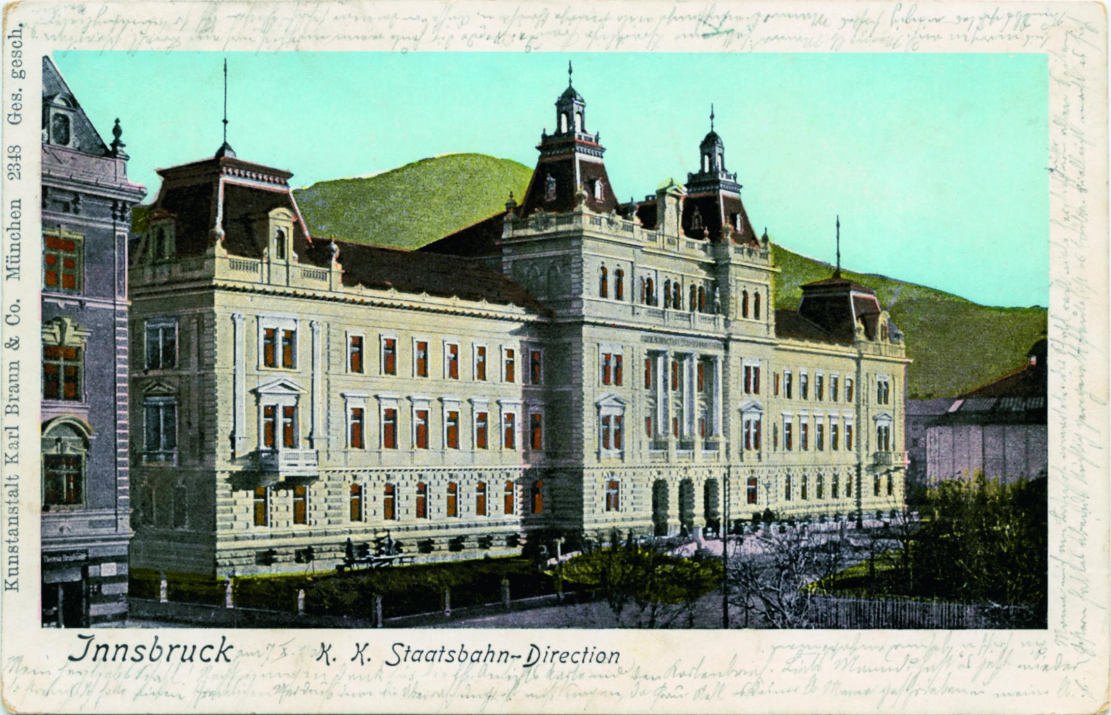 Ein Verwaltungs-Palast