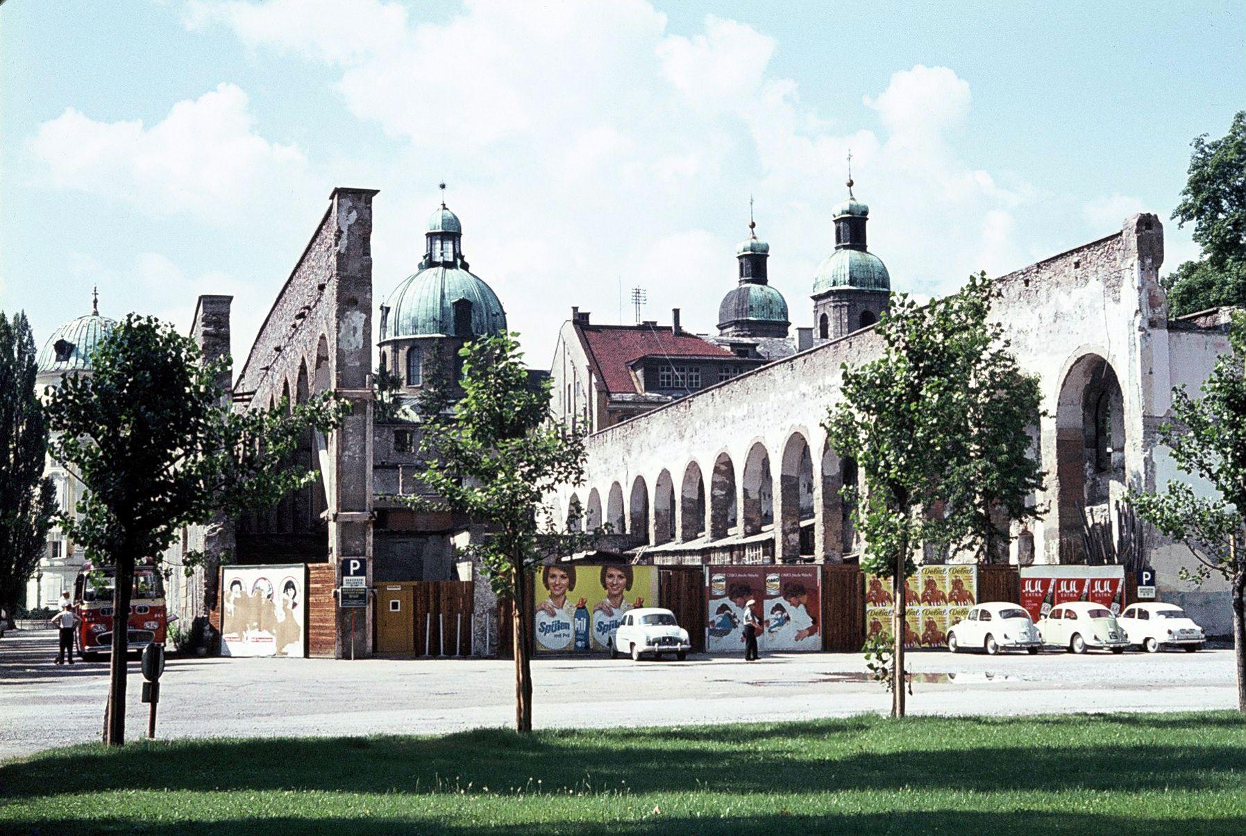 Die Dogana – Die Berühmteste Ruine Von Innsbruck