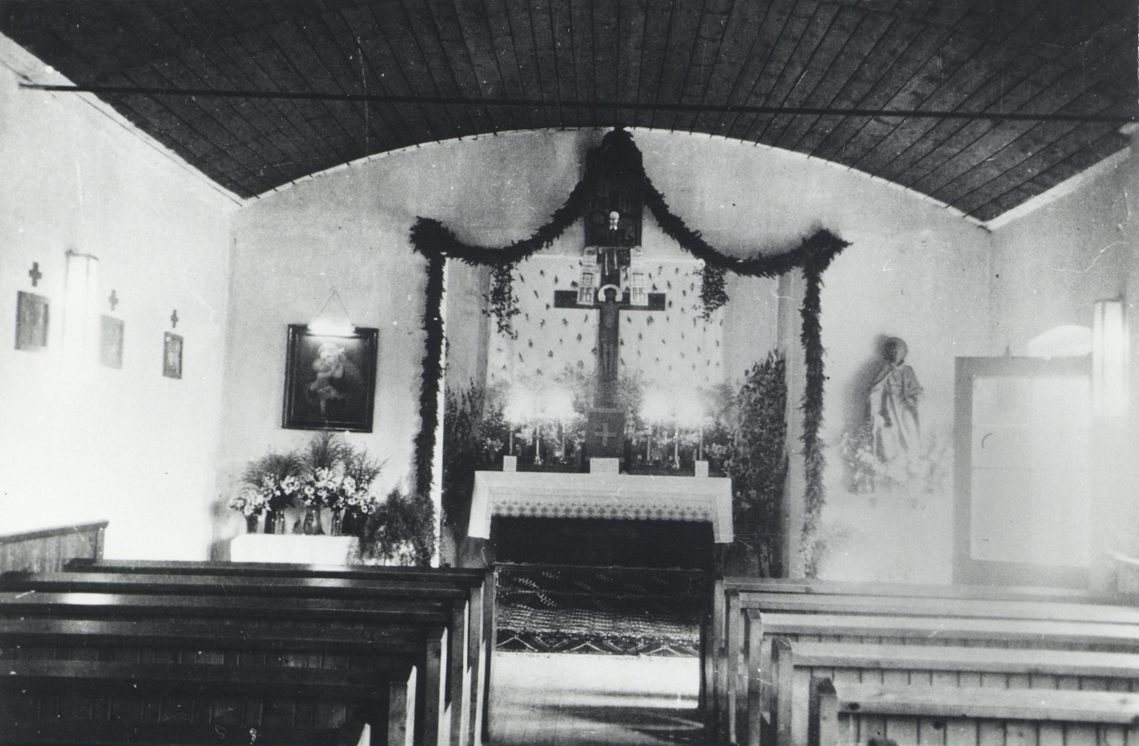 Die Erste Kirche Von Neu-Arzl