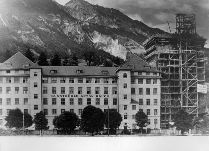 Neubau Der Rauchmühle