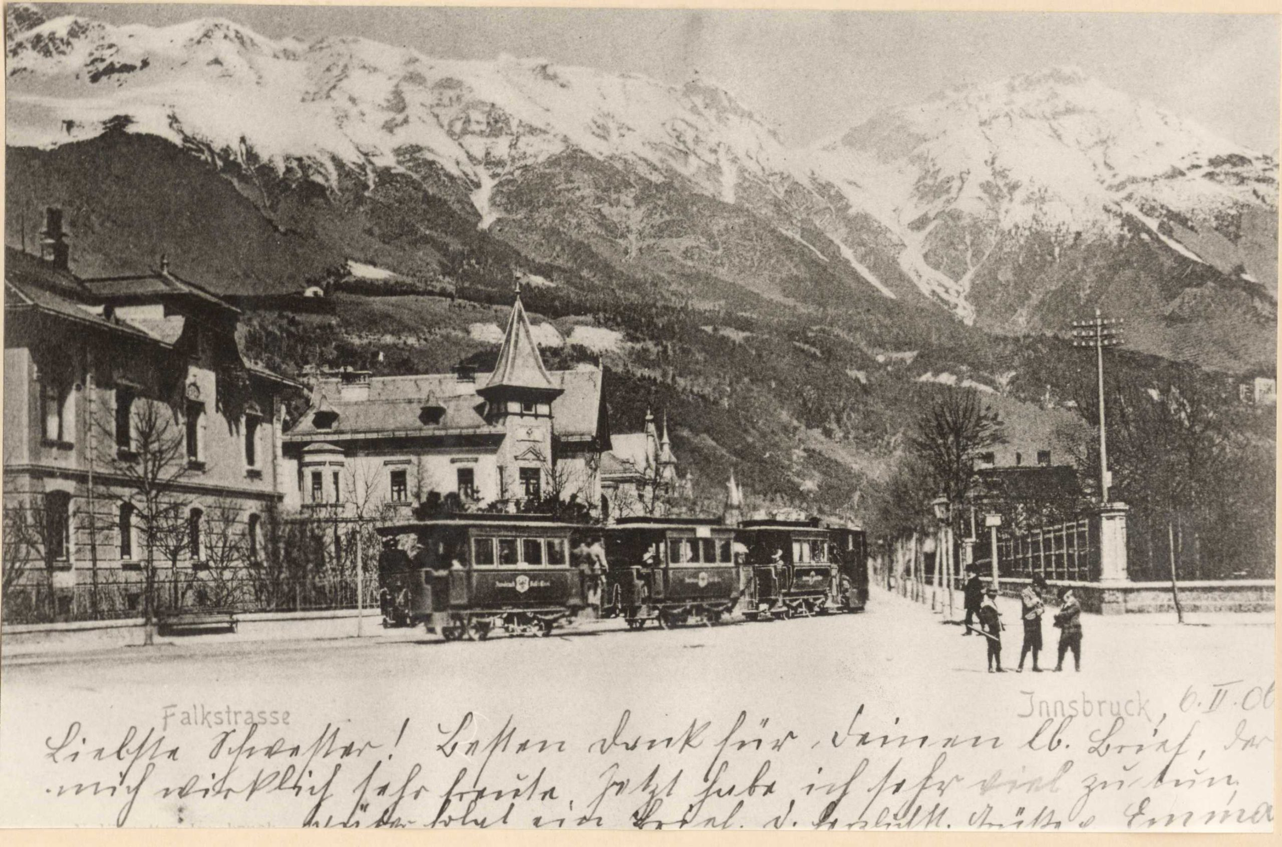 Straßenbahn Falkstraße