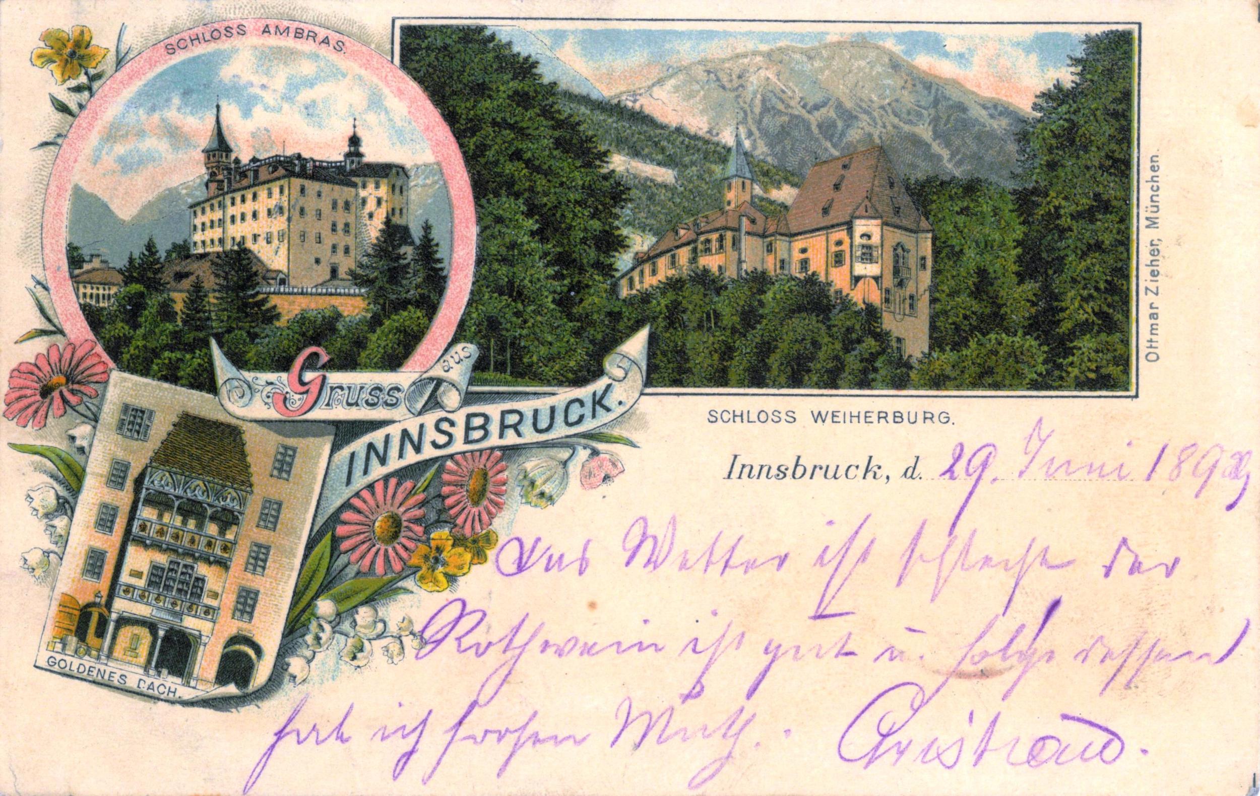 Gruß Aus Innsbruck