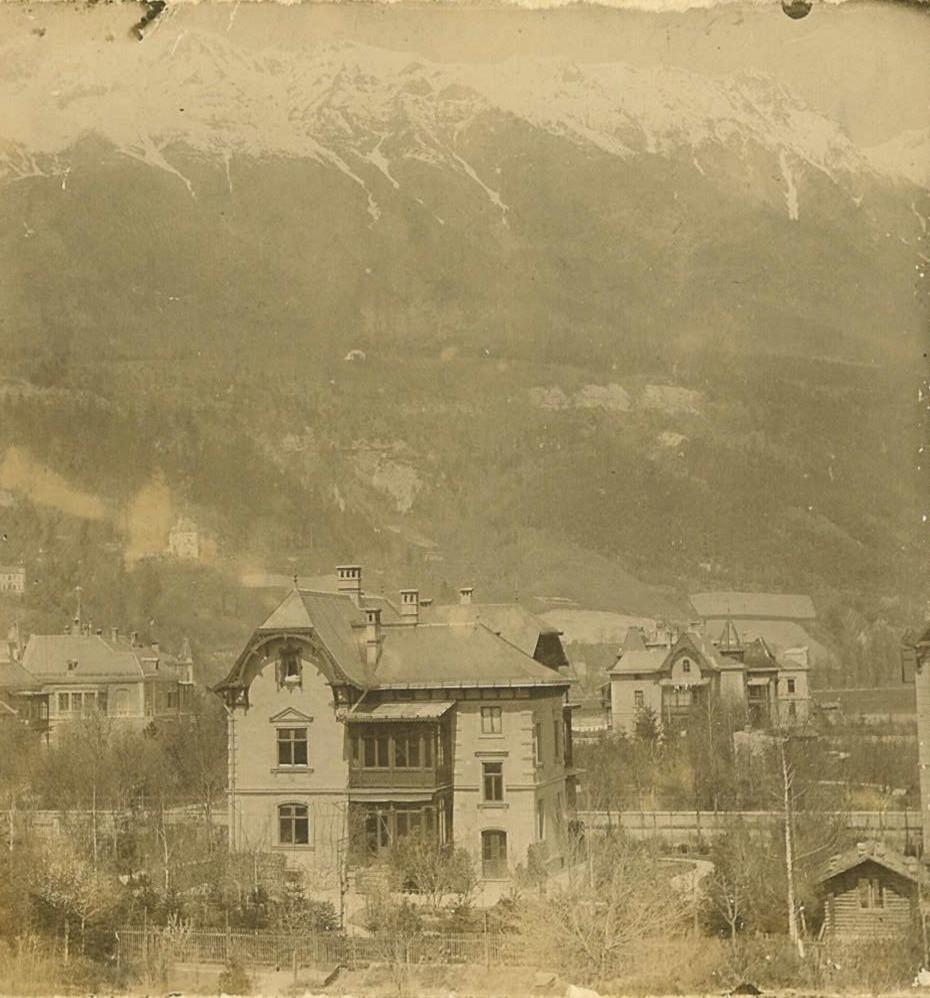 Die Alte Villa Von Onkel Julius