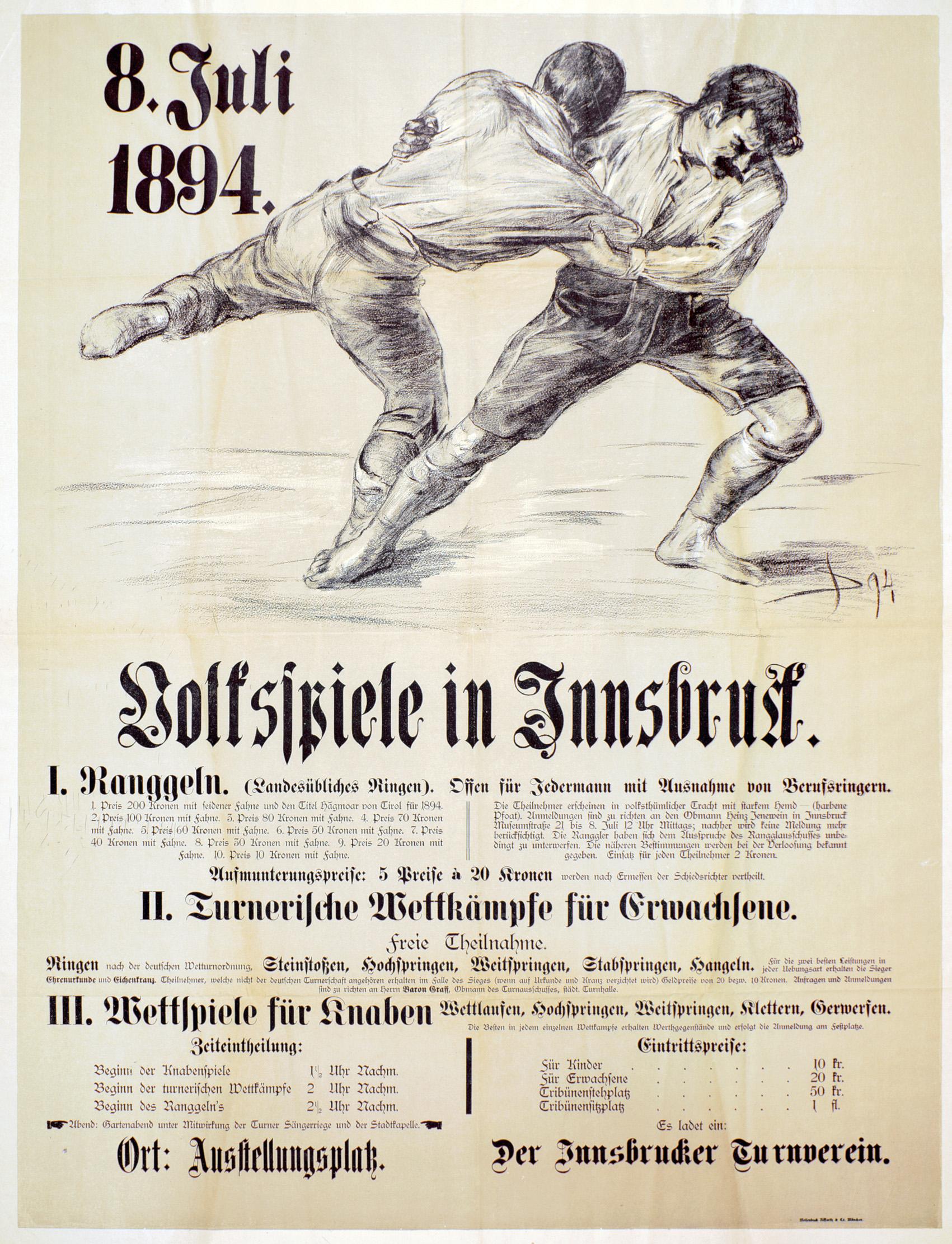 Volksspiele 1894