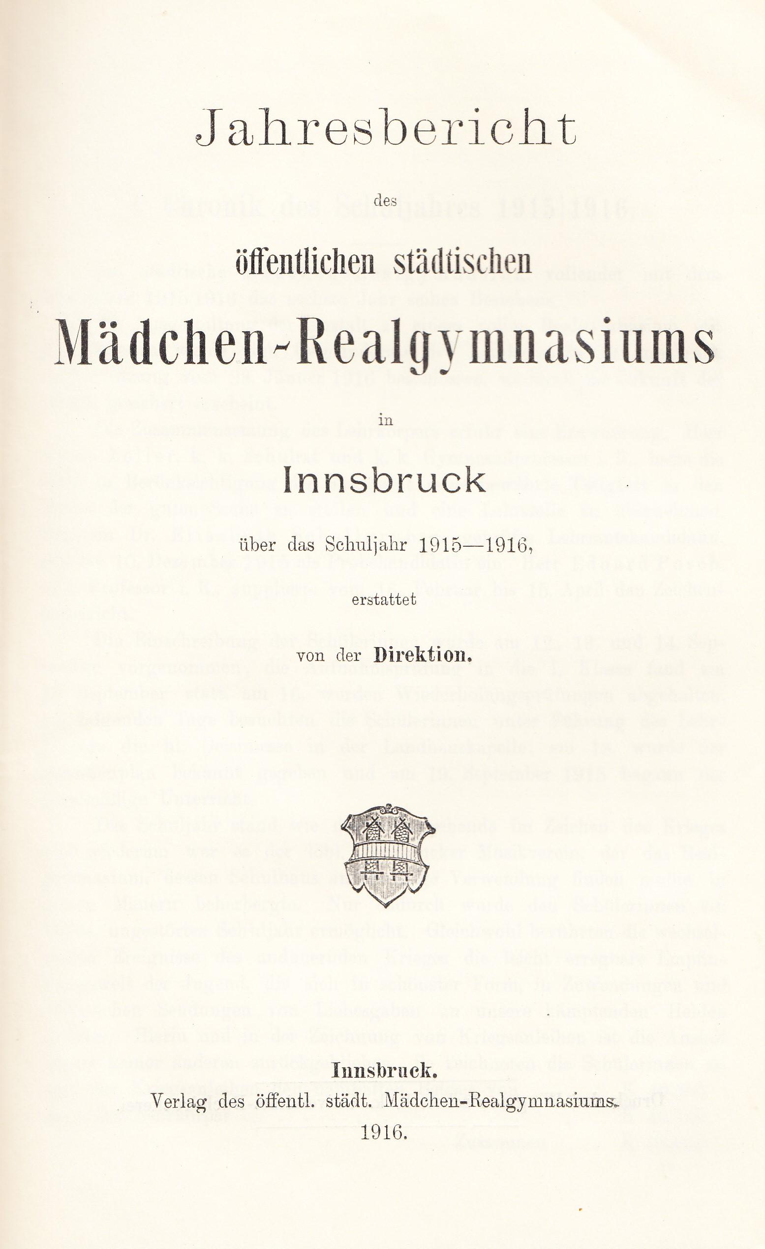 Die Sillgasse Bis 1938 (II.)