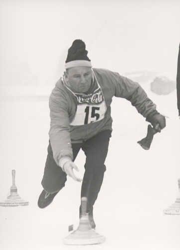 Olympische Eisstockschützen
