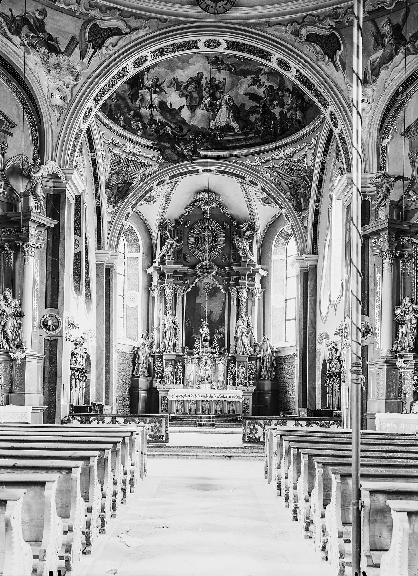Und Wieder Eine (un)bekannte Kirche: Mit Den Augen Des Unbekannten Fotografen X