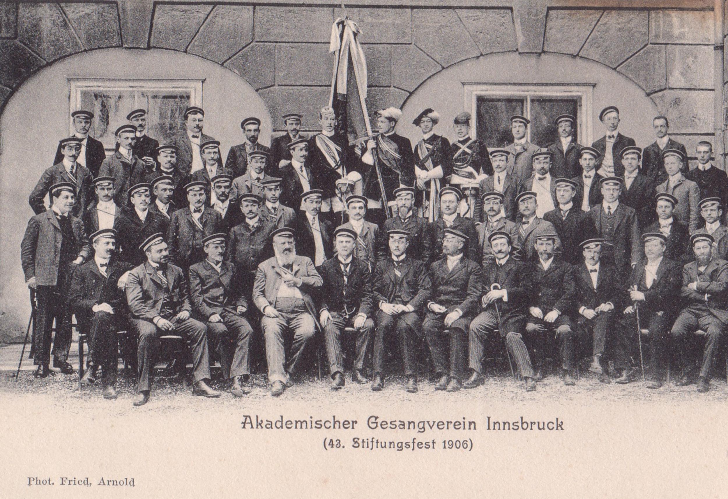 43. Stiftungsfest Des Akademischen Gesangsvereins