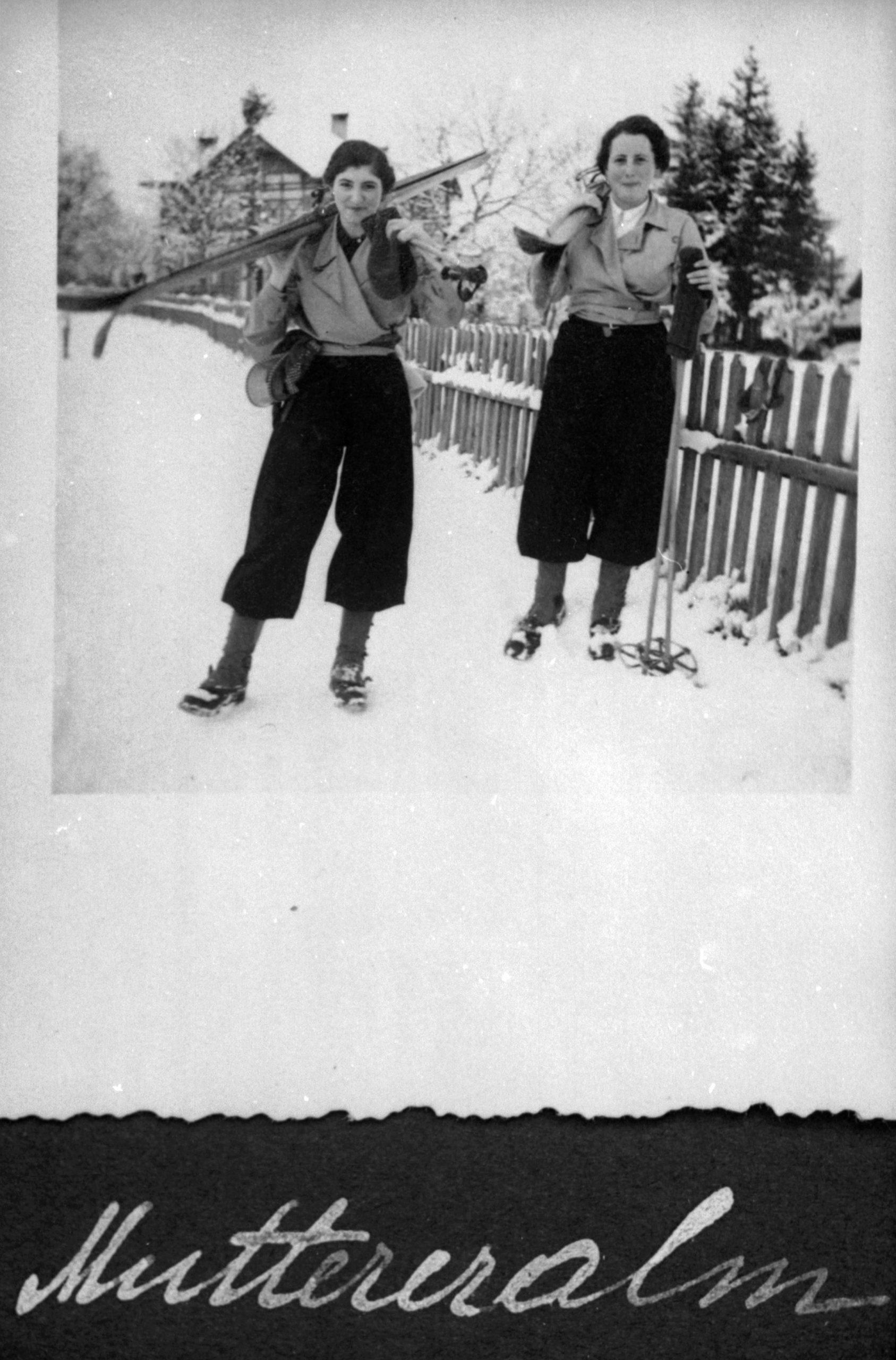 Frühsport 1936