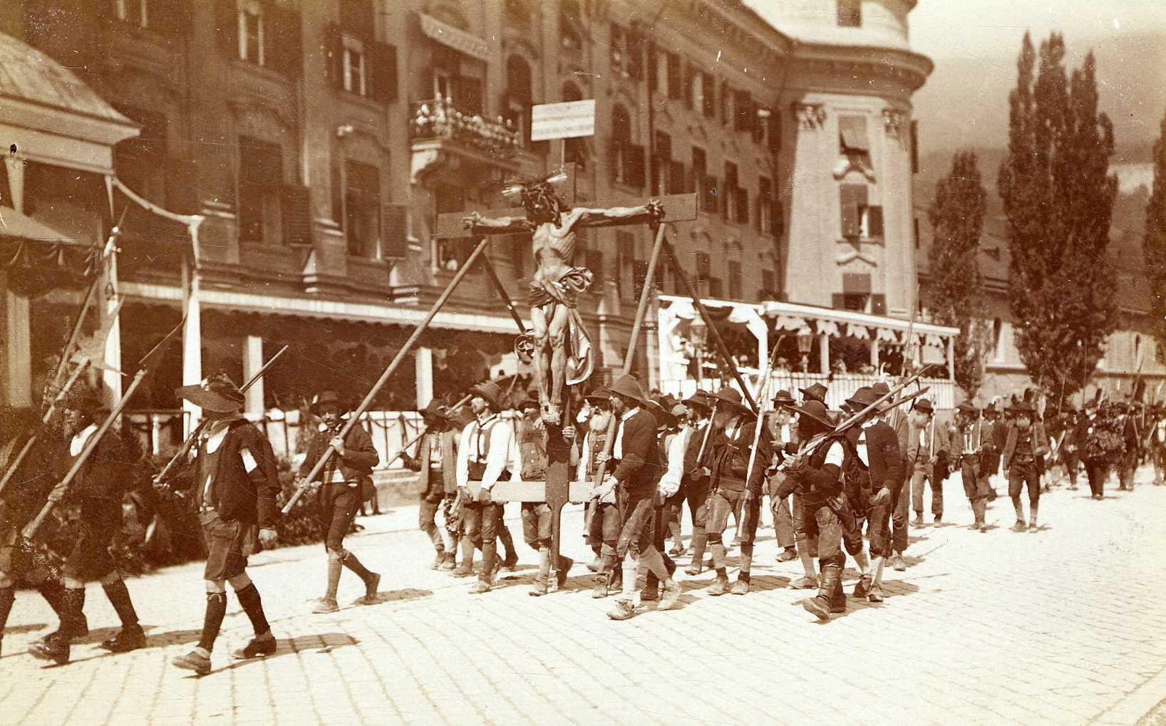 Tiroler Jahrhundertfeier 1909 – Festumzug Der Schützen
