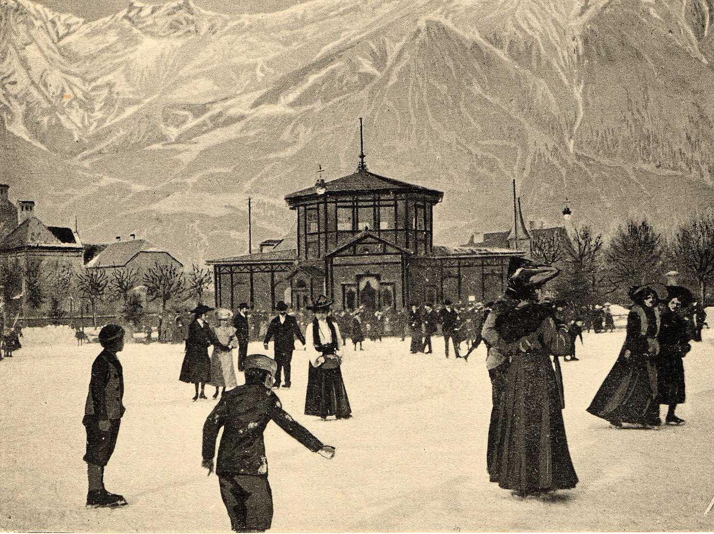 Alter Eislaufplatz In Der Falkstraße