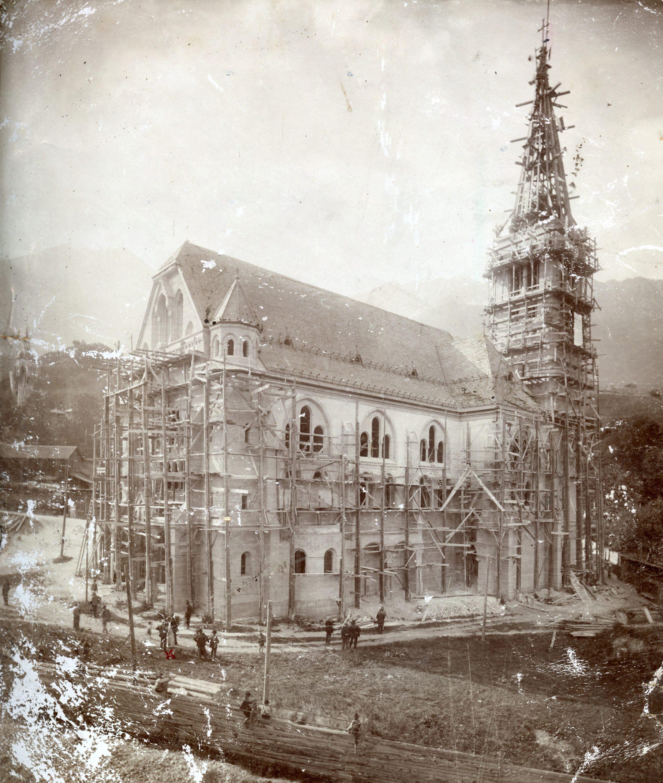 Ein Tag Auf Der Höttinger Kirchenbaustelle