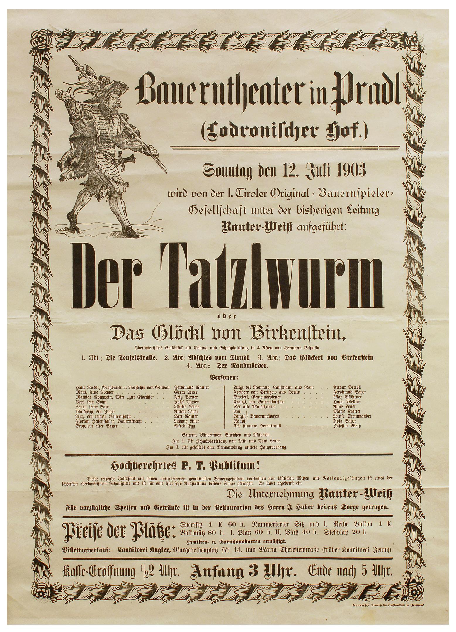 Der Tatzlwurm