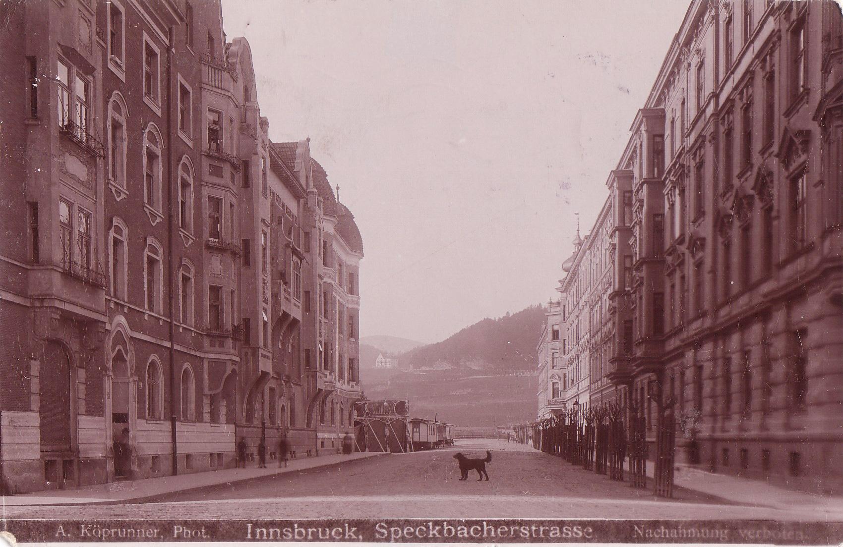 In Der Speckbacherstraße