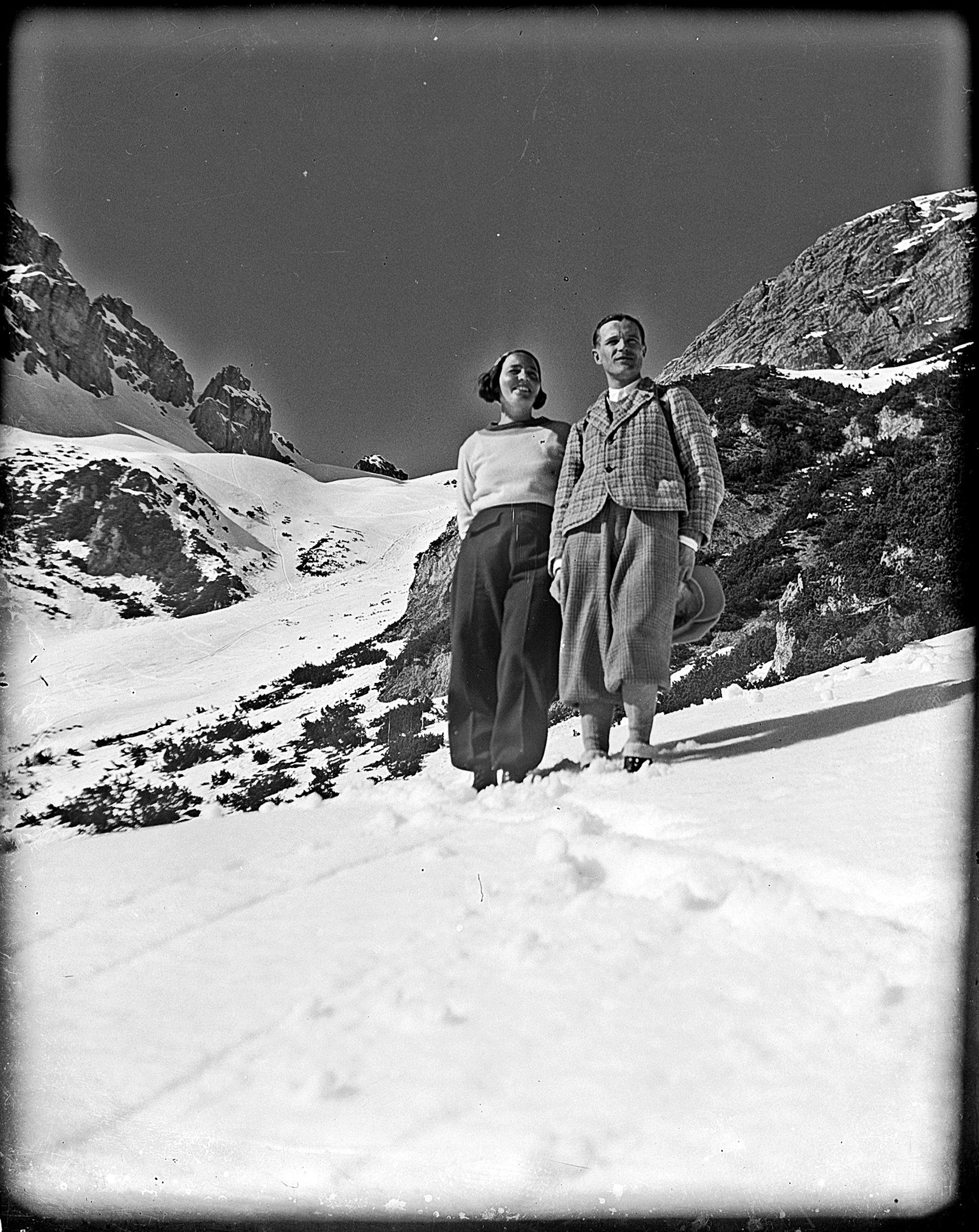 Arzler Scharte 1932