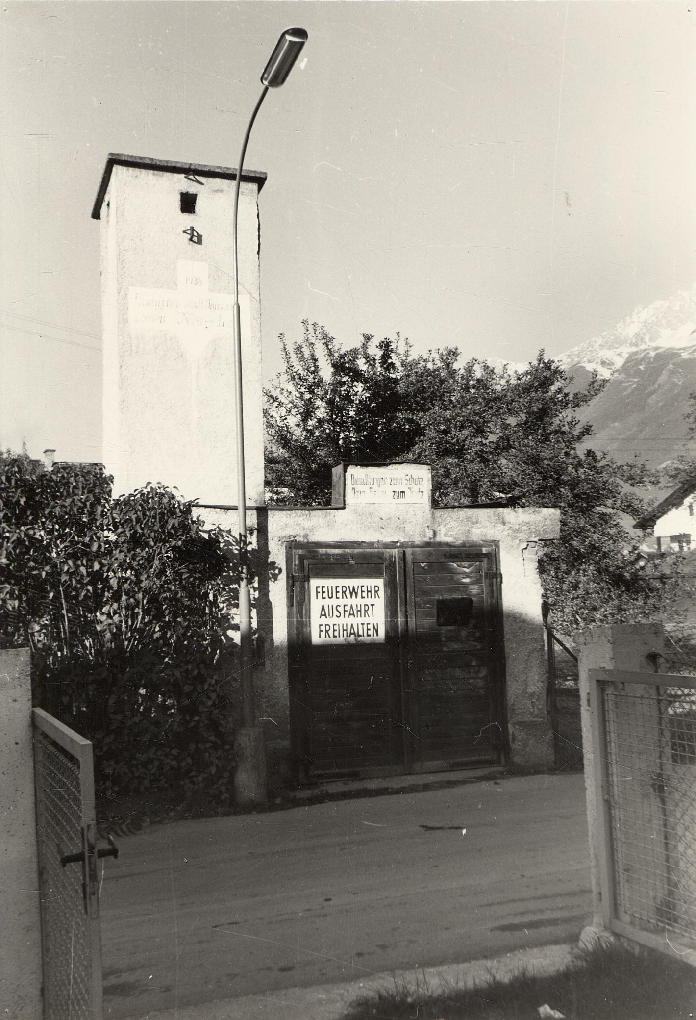 Das Kleinste Feuerwehrhaus Innsbrucks…