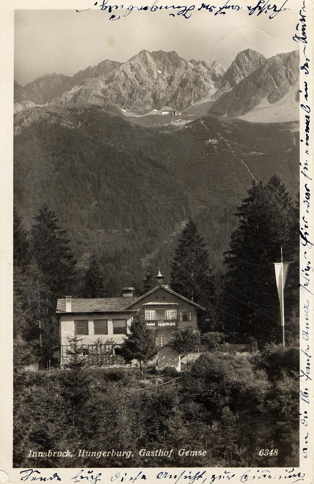 """Gasthof """"Zur Gemse"""""""