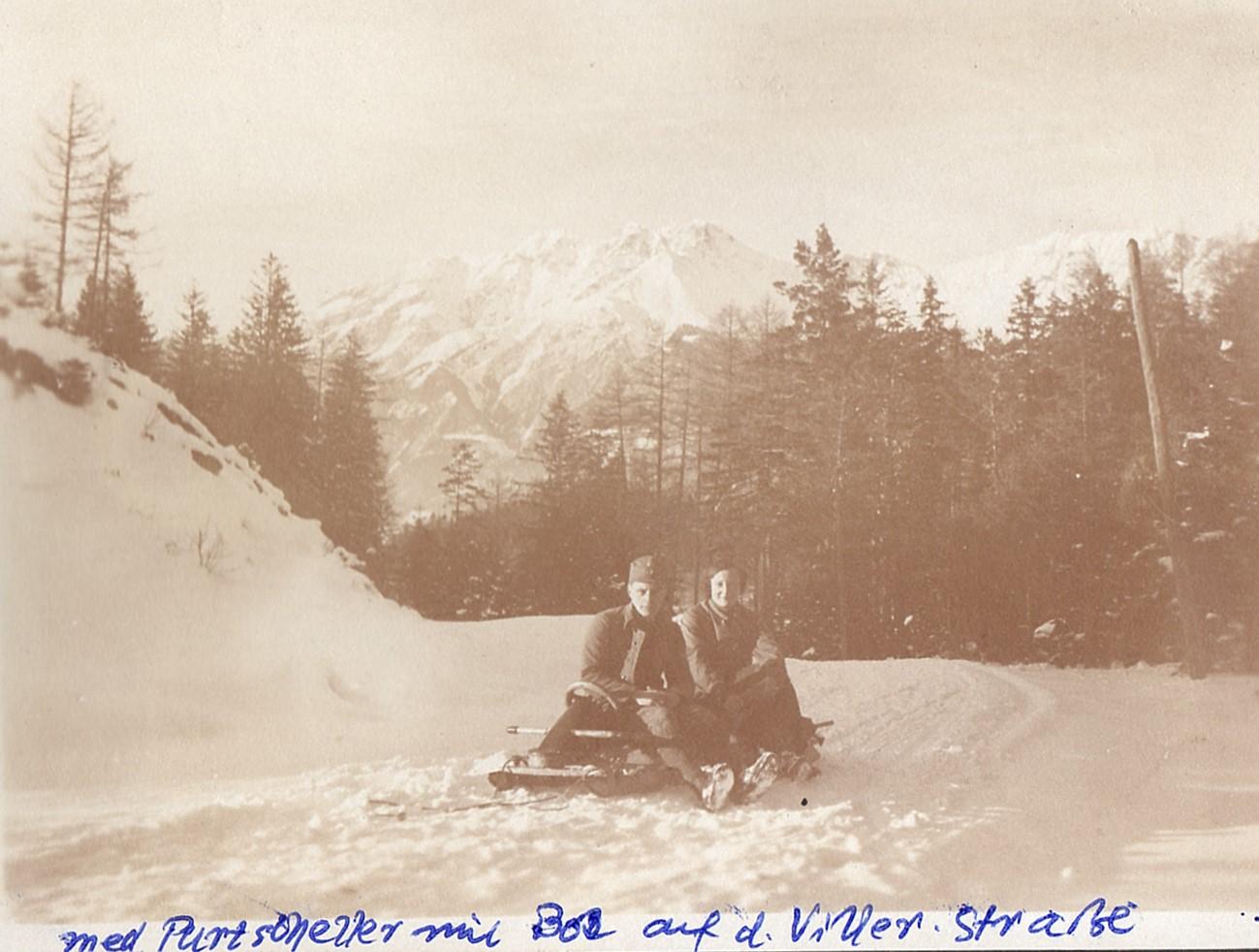 Winter Auf Der Viller Straße