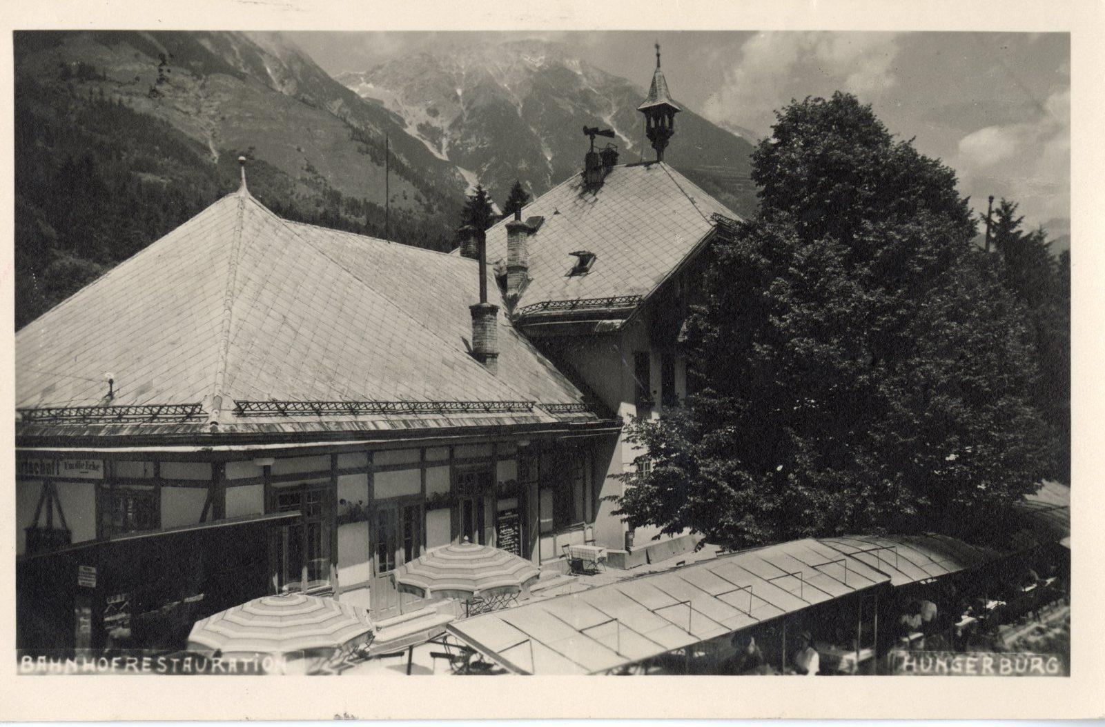 """Café-Restaurant """"Bahnhof"""" Auf Der Hungerburg"""