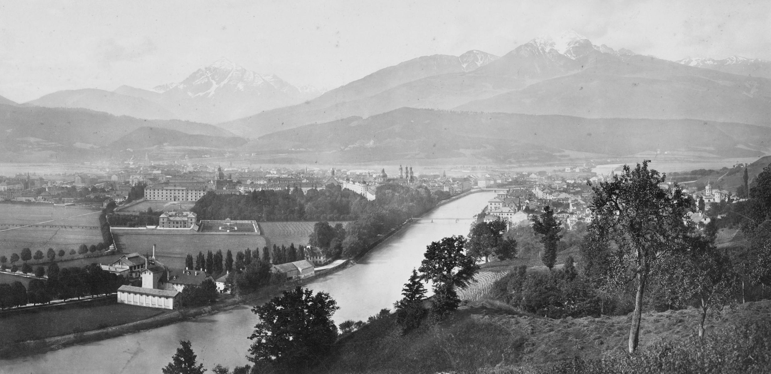Innsbruck Gegen Südwesten…