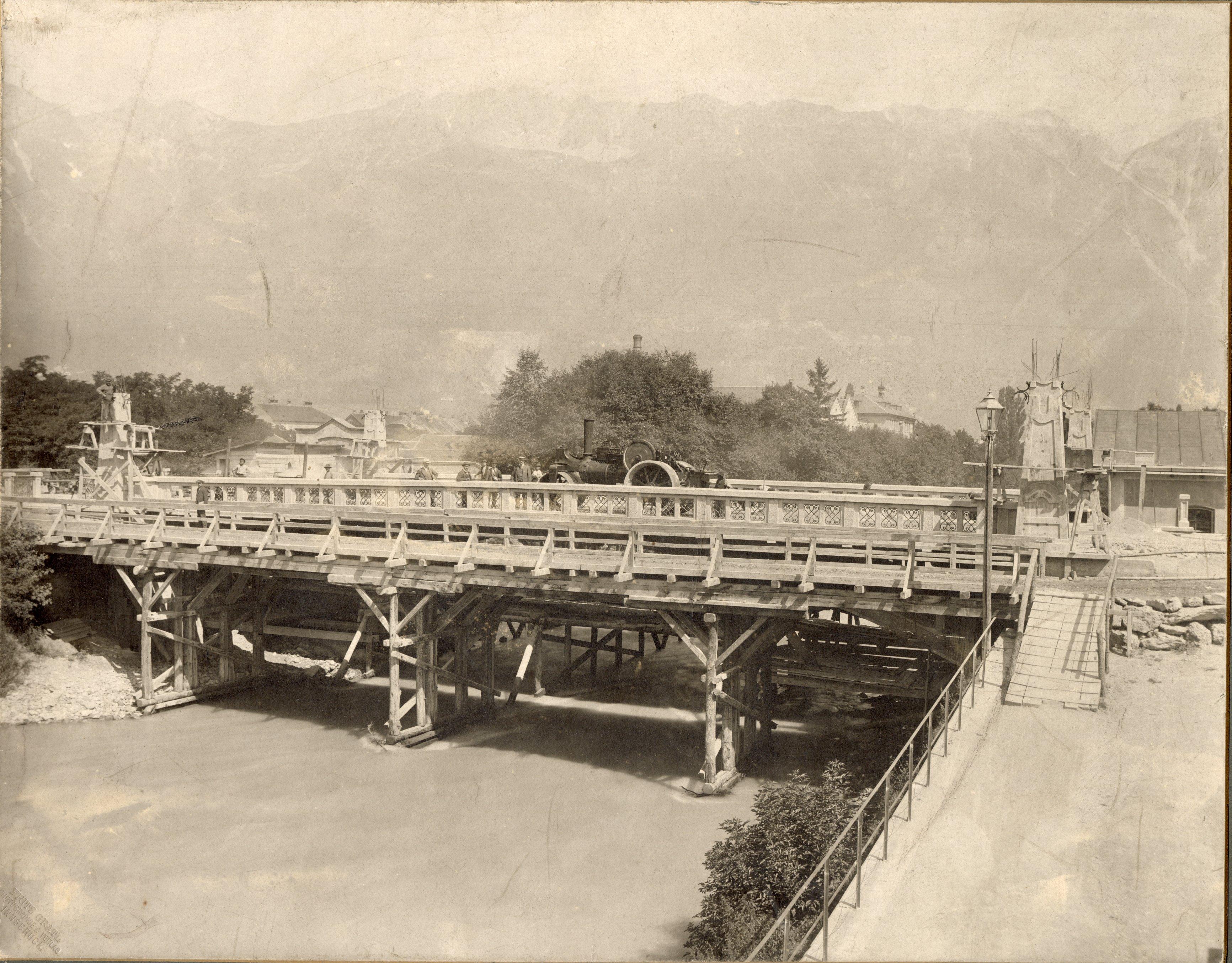 Innsbrucks Erste Eisenbetonbrücke
