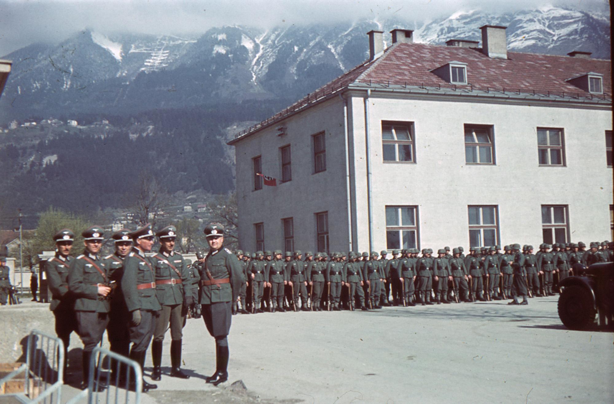 Eine Neue Kaserne Für Innsbruck IV
