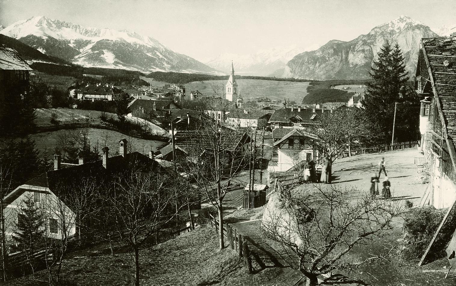 Ein Mondänes Dorf Am Rande Der Stadt