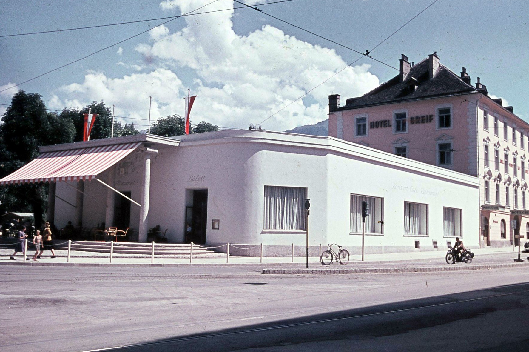 Das Innsbrucker Boulevardcafé – Café Greif