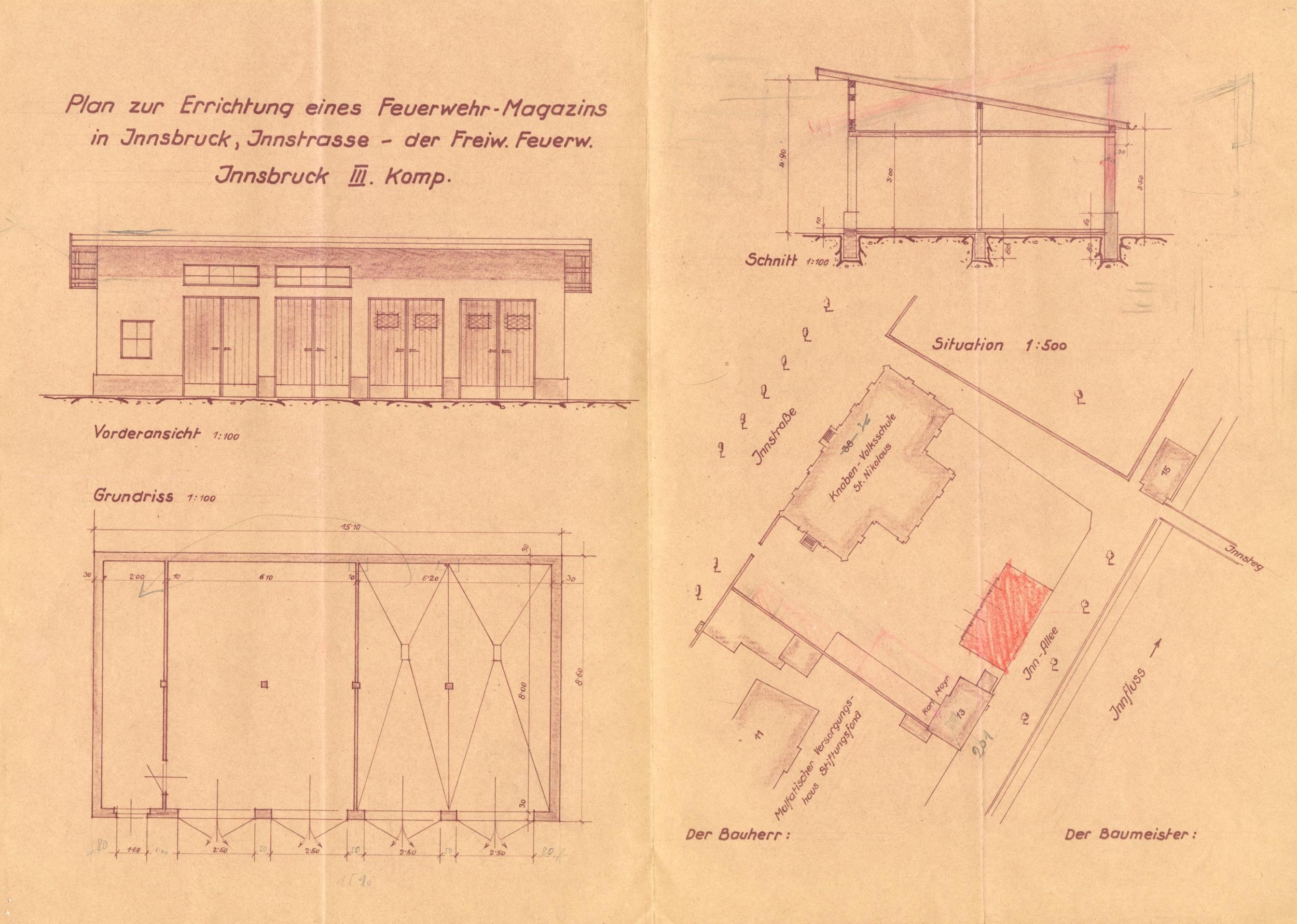 Ein Neues Gerätehaus Für Die III. Kompanie