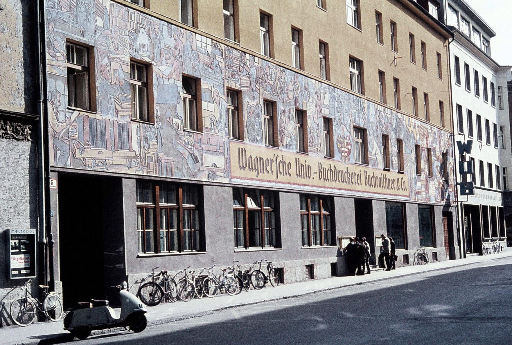 Ein Betrieb Mit Langer Tradition – Wagner`sche Universitäts-Buchdruckerei