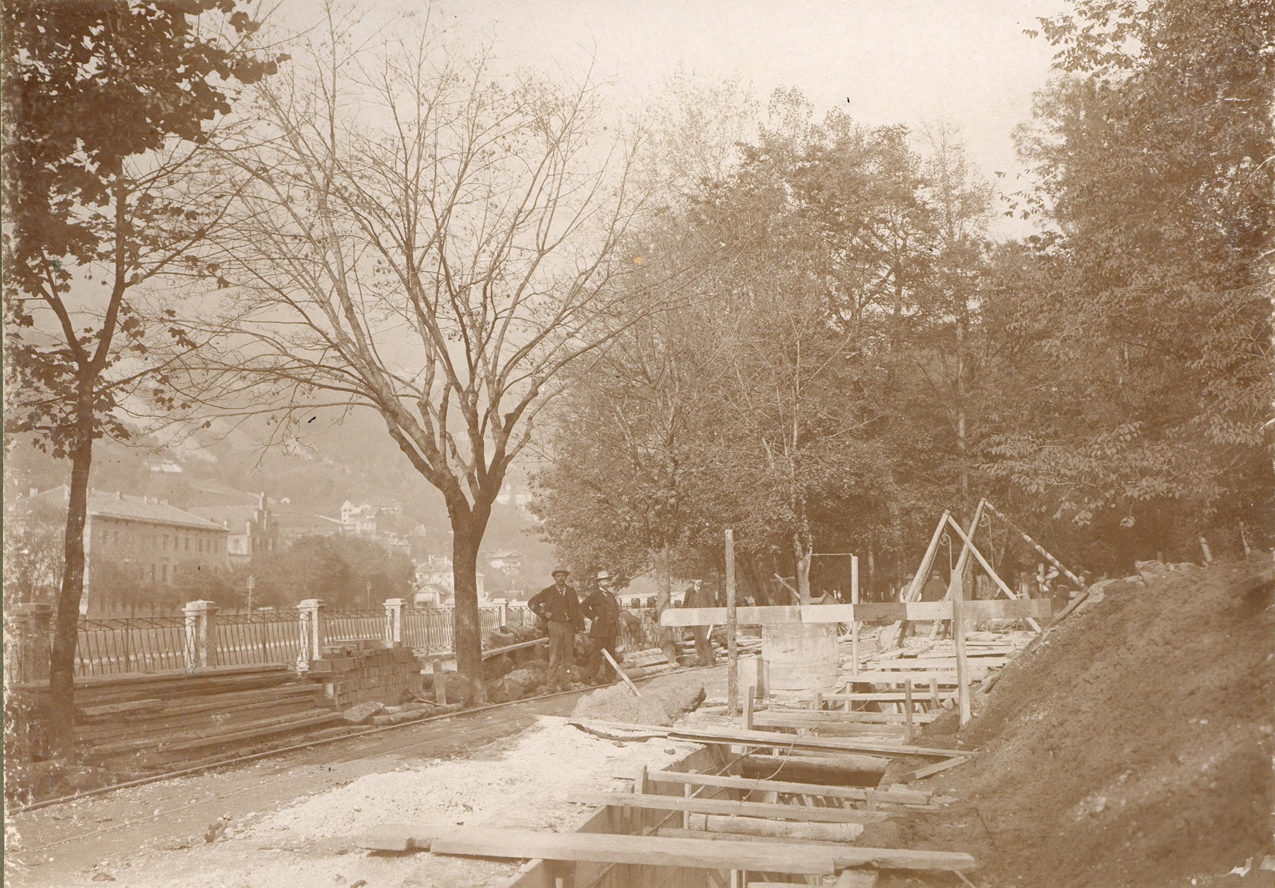 Kanalarbeit Herzog-Otto-Straße