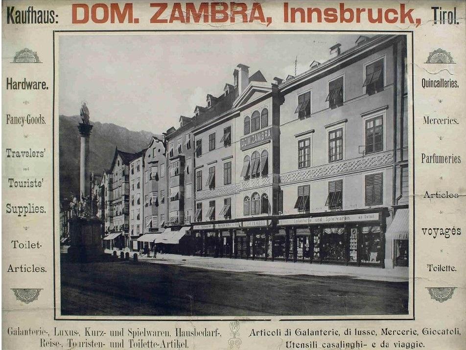 Das Kaufhaus Dom. Zambra