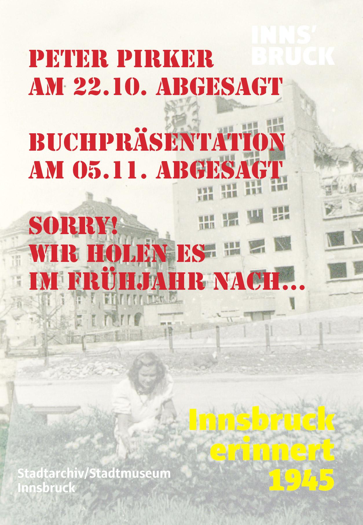 Innsbruck Erinnert 1945