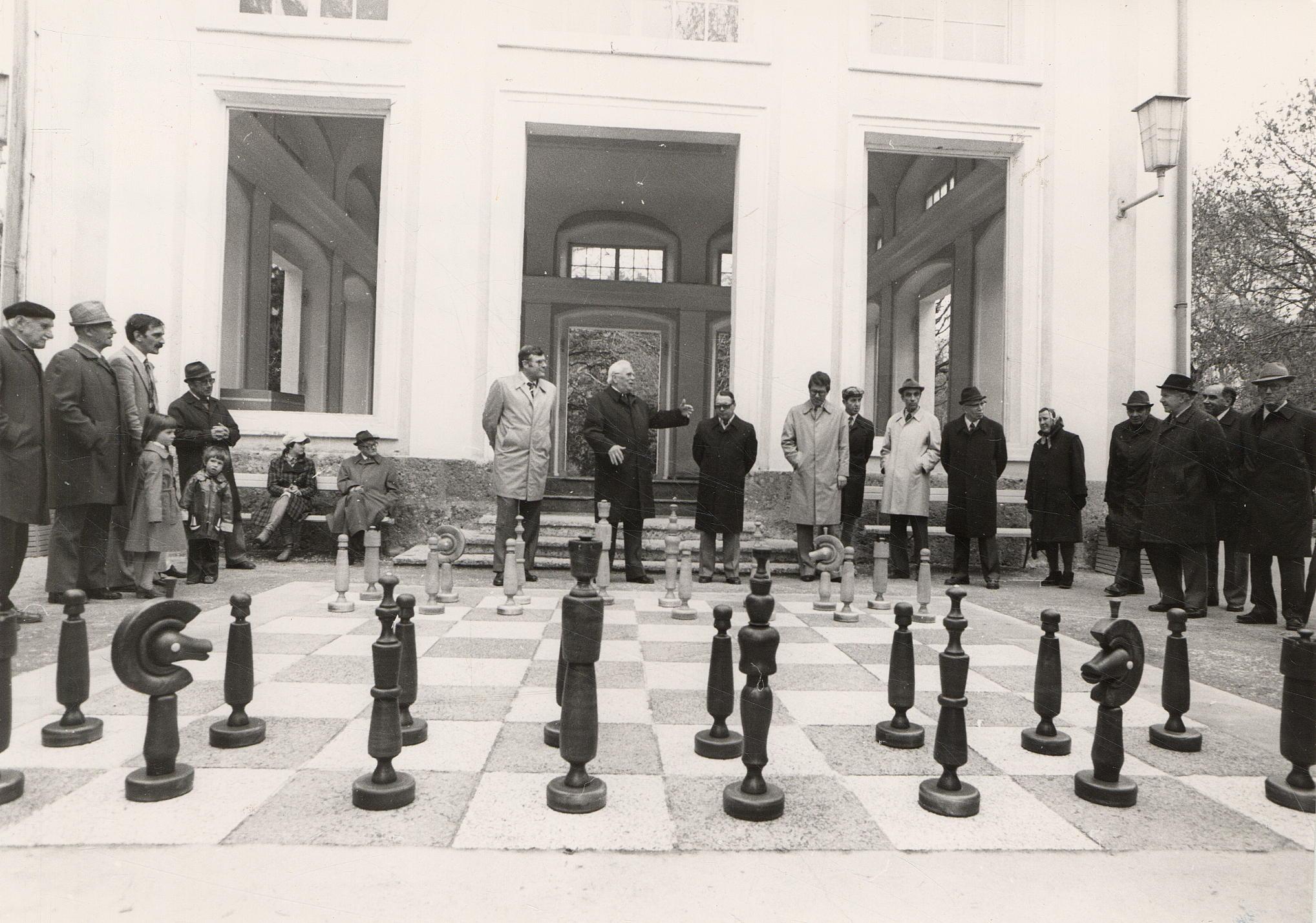 Das Schachspielen…