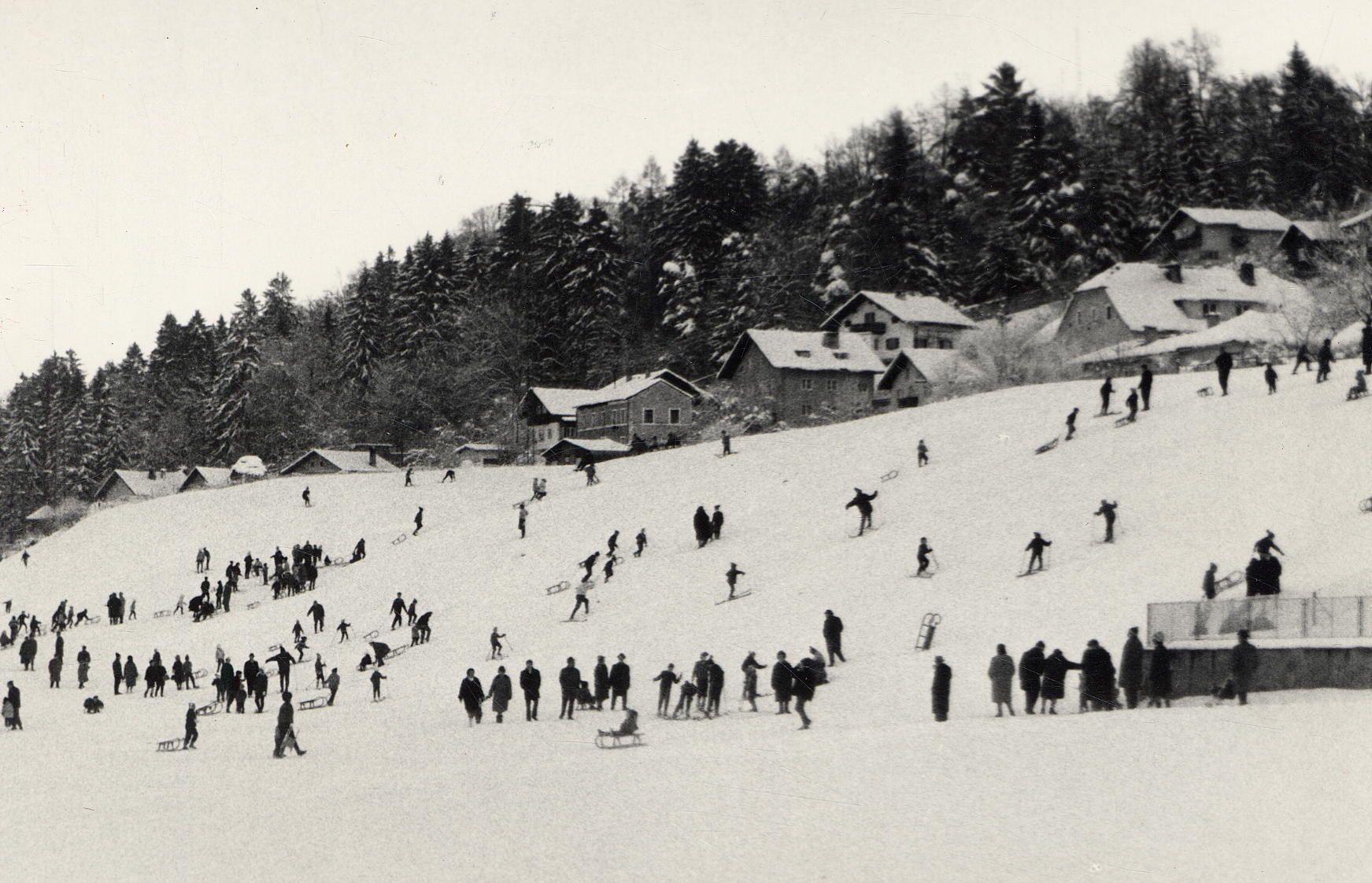 Wintersport Anno 1964