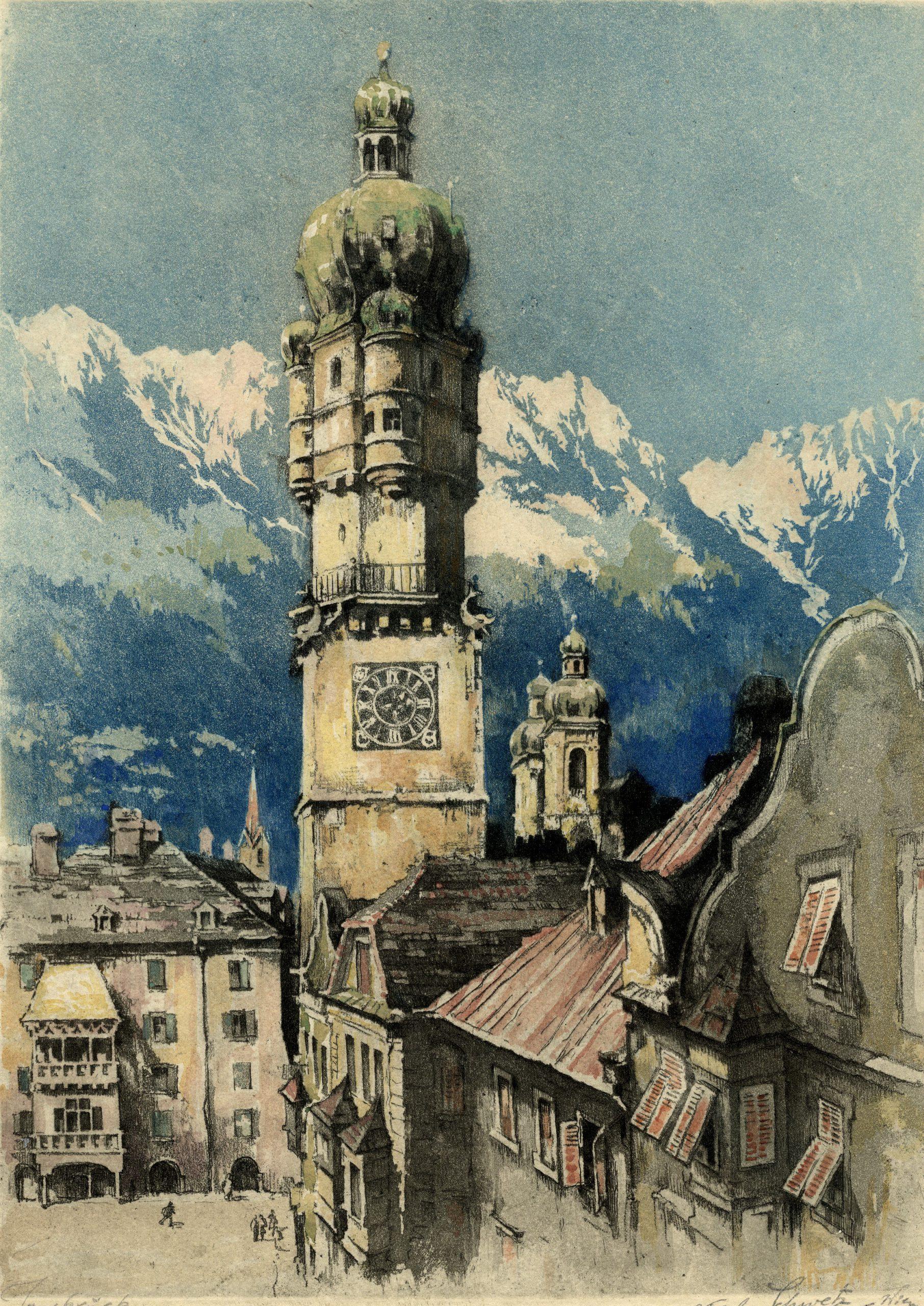 Der Gipfel Der Altstadt