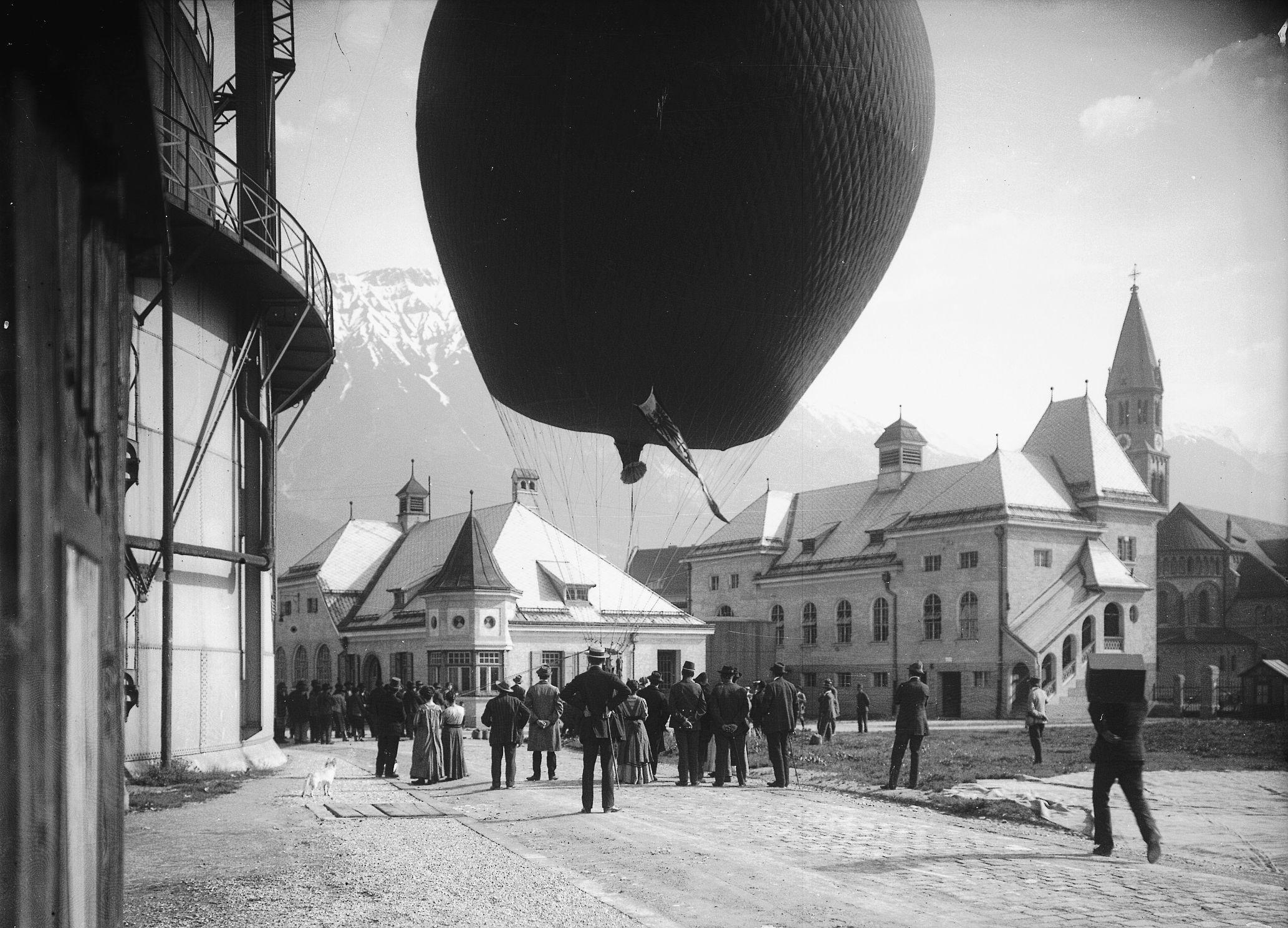 Eine Baldige Ballonfahrt…