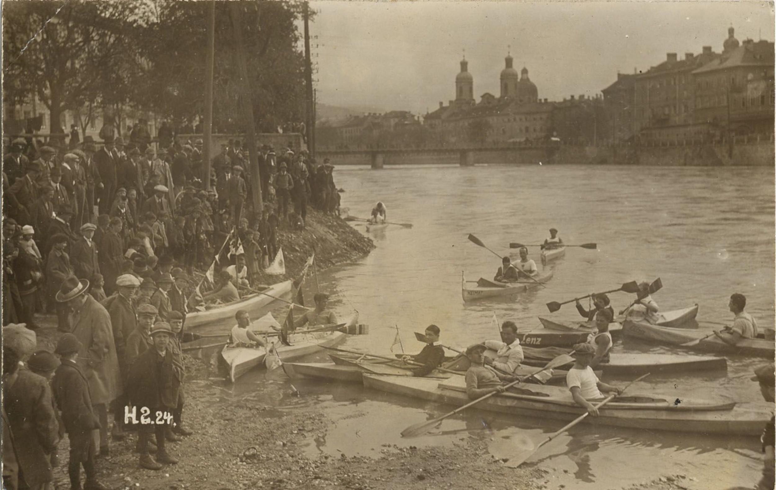 Wassersport Anno 1924
