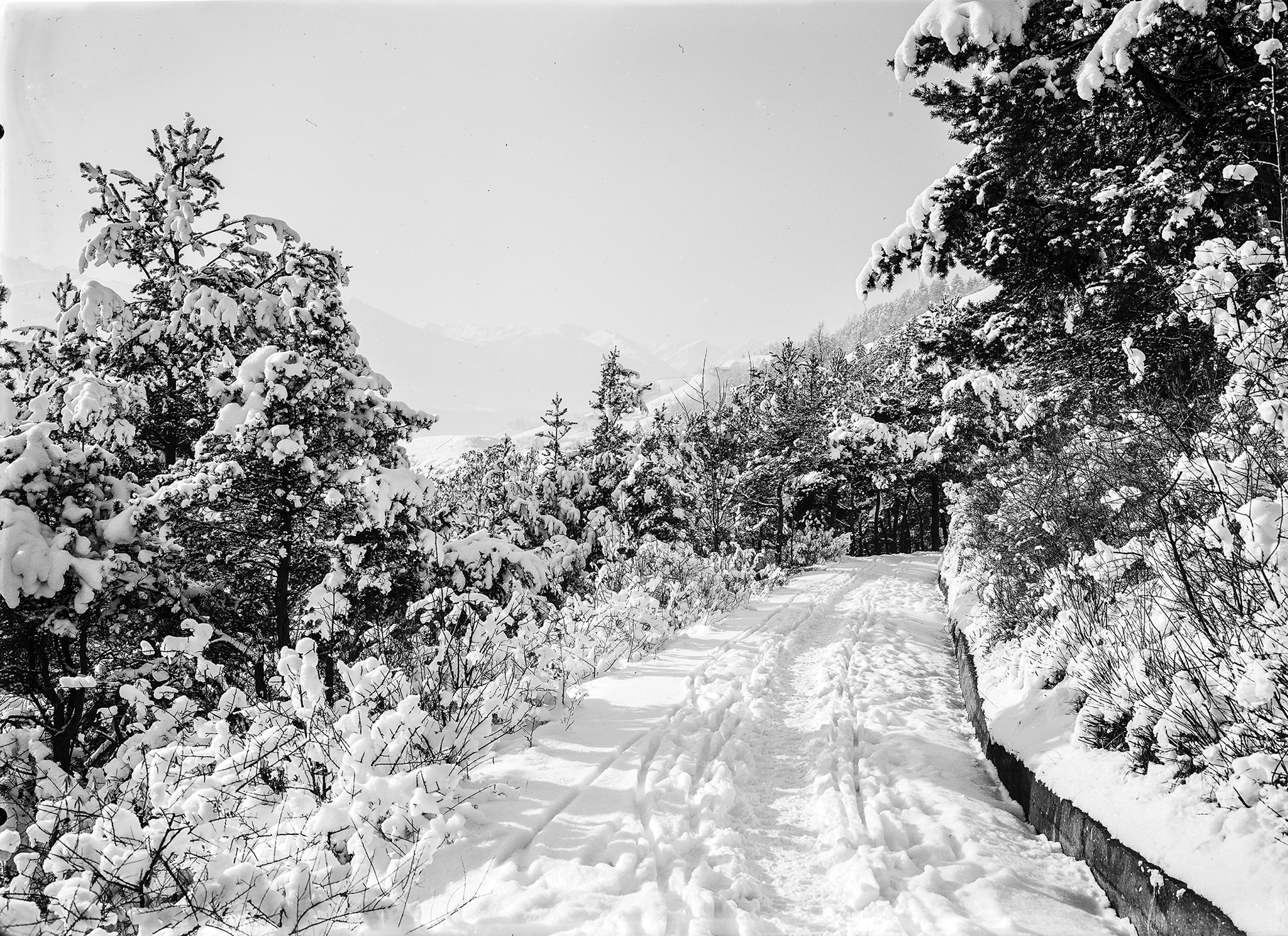 Mühlauer Winteridyll: Mit Den Augen Des Unbekannten Fotografen XXI