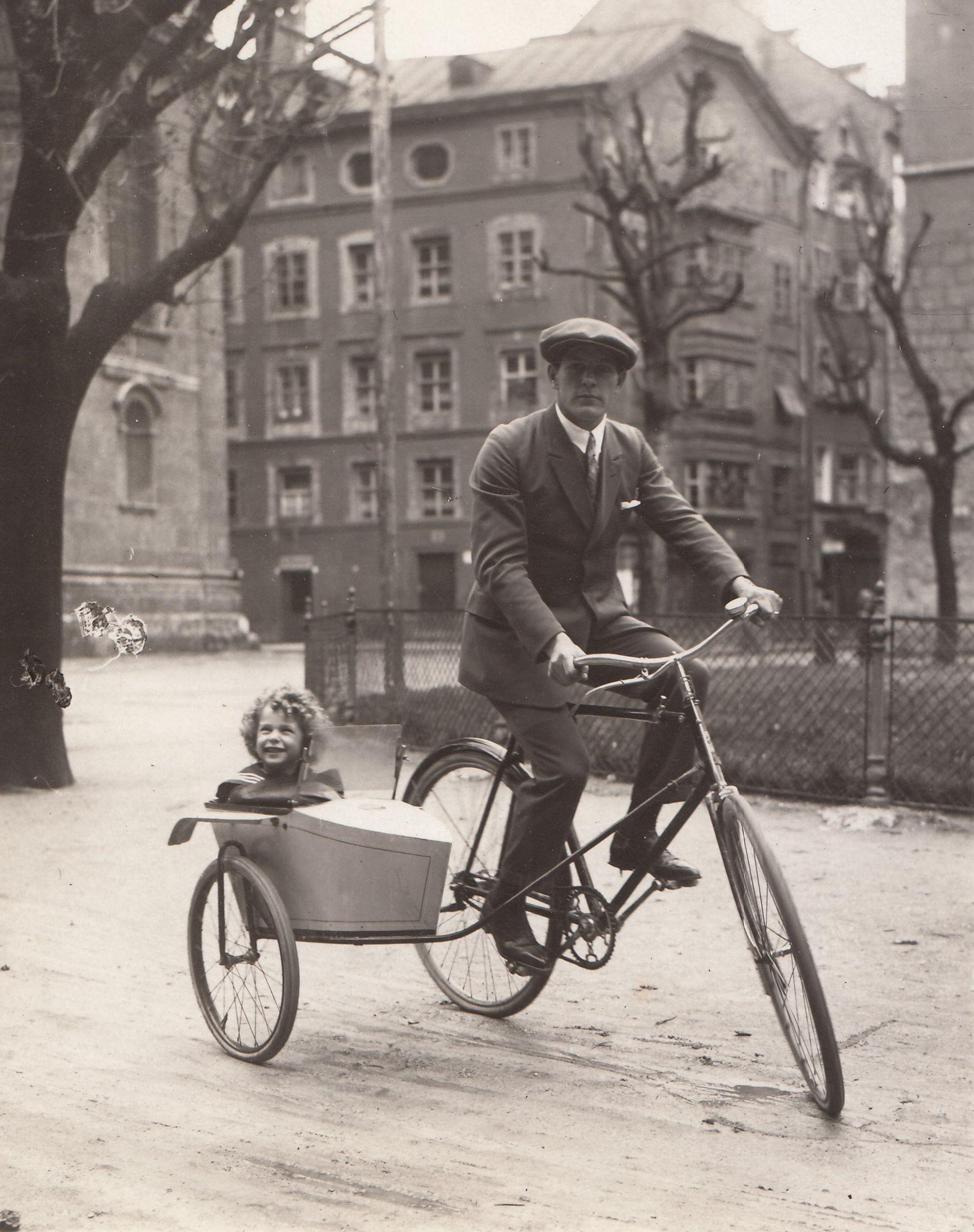Ein Besonderes Fahrradgespann