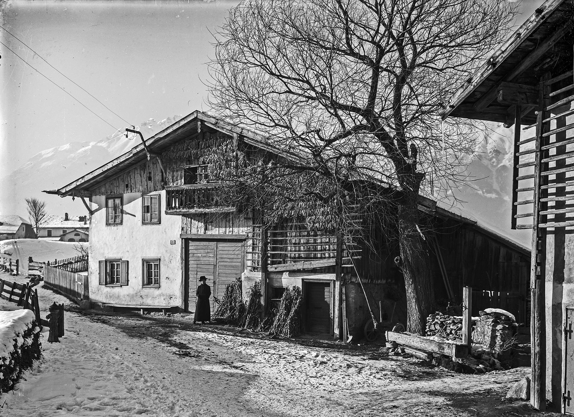 Winterliches Amras: Mit Den Augen Des Unbekannten Fotografen XXIII