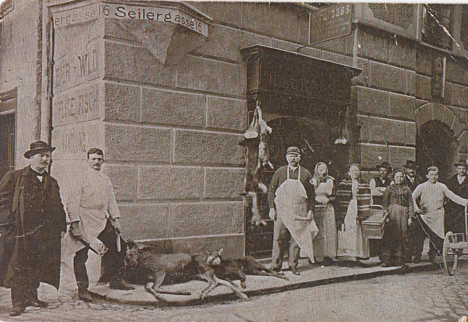 Eine Tote Gams In Der Altstadt?!