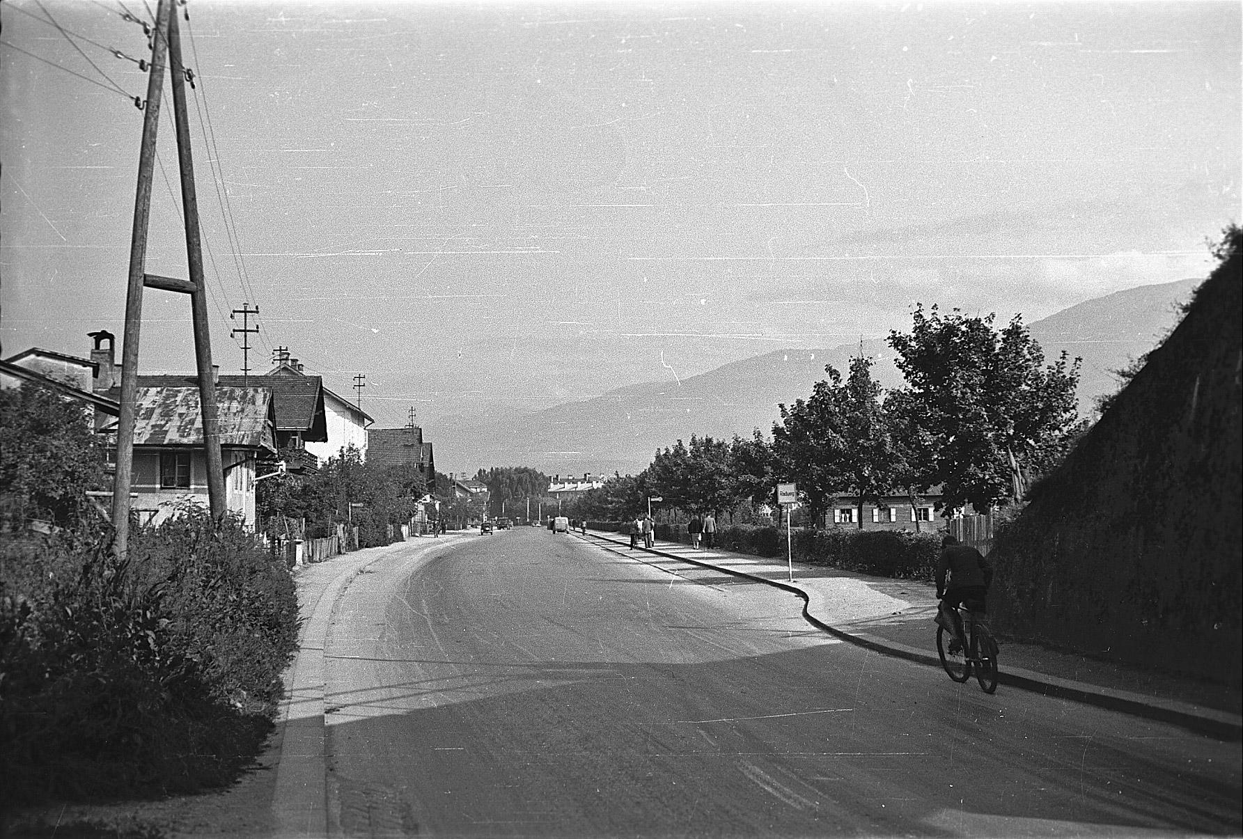Der älteste Radweg Der Stadt
