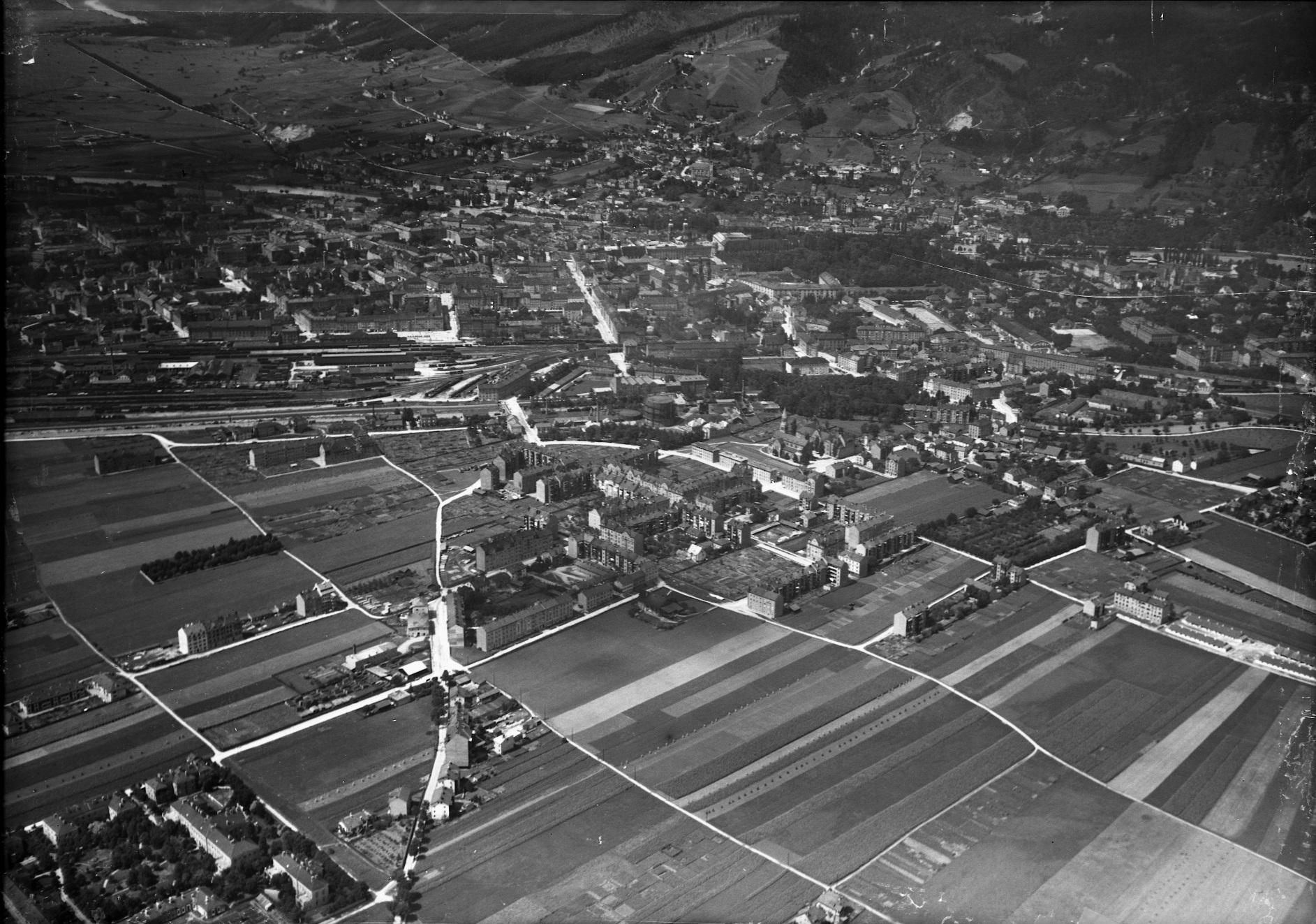 Anflug Von Innsbruck Ost